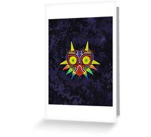 Majora's Mask Splatter Greeting Card