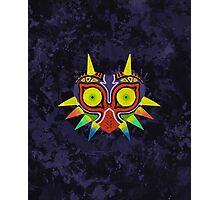 Majora's Mask Splatter Photographic Print