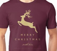 Merry Christmas With Love Unisex T-Shirt