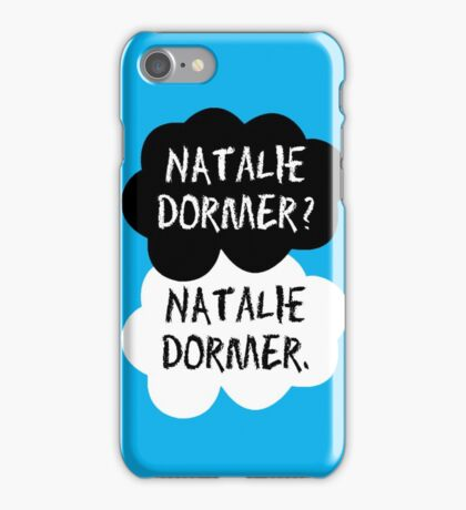 Natalie Dormer (The Fault in Our Stars) iPhone Case/Skin