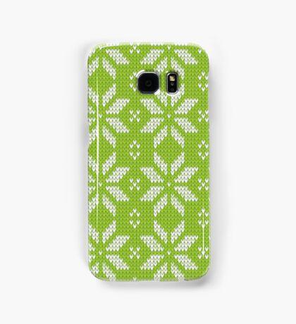 Knitted snowflake Samsung Galaxy Case/Skin