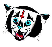 Devil Cat tat by DRtattoo