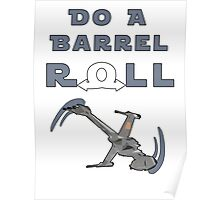 Barrel Roll B-Wing Poster