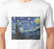 The Starry Night - Vincent van Gogh - 1889 Unisex T-Shirt