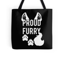 PROUD FURRY Tote Bag