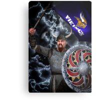 Viking Warrior  Metal Print