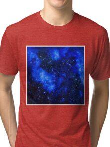 Stars Painting by Ottavio Fabbri Tri-blend T-Shirt