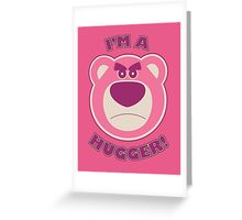 Toy Story Lotso Huggin Bear Greeting Card