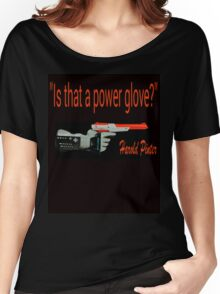 """""""Is That a Power Glove?"""" Women's Relaxed Fit T-Shirt"""