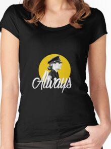 Kate Beckett - Always Women's Fitted Scoop T-Shirt