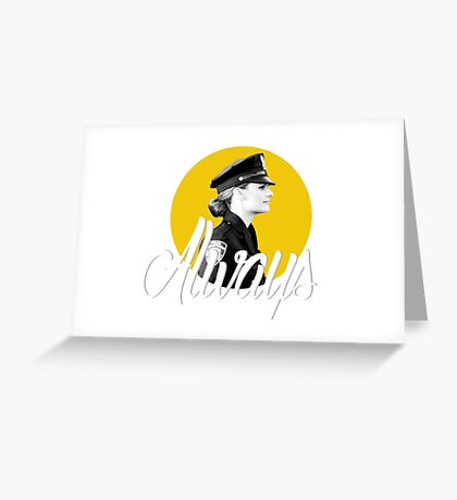 Kate Beckett - Always Greeting Card