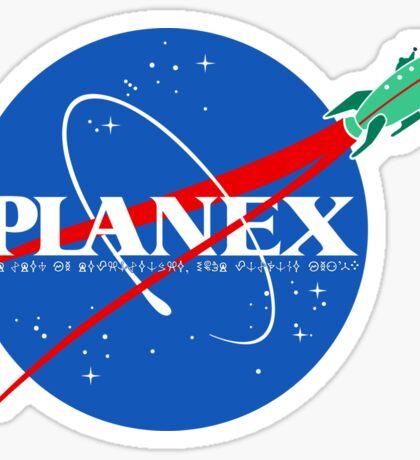 PlanEx Sticker