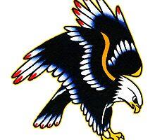 Eagle tattoo design by DRtattoo