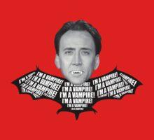 "Nicolas Cage ""I'm a Vampire""  by glucern"