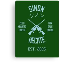 Sinon Hecate (Blue) Canvas Print