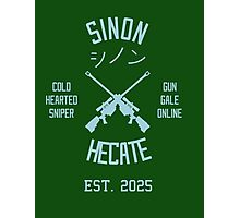 Sinon Hecate (Blue) Photographic Print
