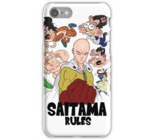 Saitama Rules iPhone Case/Skin