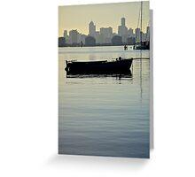 City Sailer Greeting Card