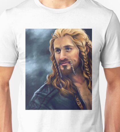 Fili-Blue and Gold Unisex T-Shirt