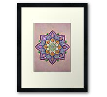 Mandala : Inner Strength  Framed Print