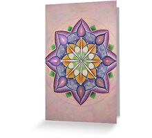 Mandala : Inner Strength  Greeting Card