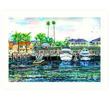 Delaney's Sea Shanty Art Print