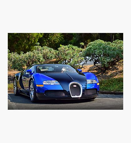 Bugatti Veyron Photographic Print
