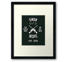 Sinon Hecate (White) Framed Print