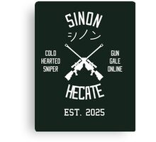 Sinon Hecate (White) Canvas Print