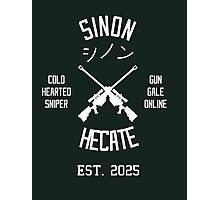 Sinon Hecate (White) Photographic Print