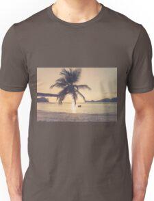 Tropical beach Unisex T-Shirt