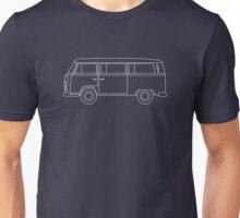 VW T2 Bus Blueprint Unisex T-Shirt