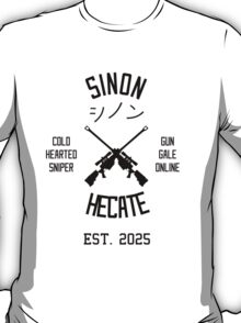 Sinon Hecate (Black) T-Shirt