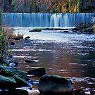 The Cramond Waterfall by Nik Watt