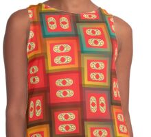 Colorful tiles Contrast Tank