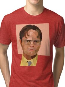 Dwight K Schrute (The Office) Tri-blend T-Shirt