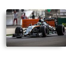 Formula 1 racing cars 2016 Canvas Print