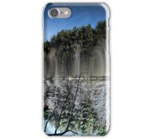 Abstract art depicting nature lakeside iPhone Case/Skin