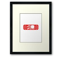 JDM Bandaid Sticker, T-shirt, Phone Case Framed Print