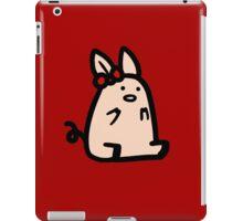 Bow Piggy iPad Case/Skin