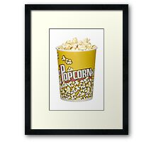 TV show addict Framed Print