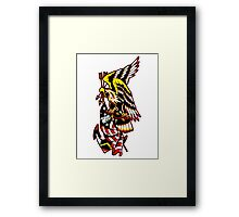 American Eagle Tattoo design Framed Print