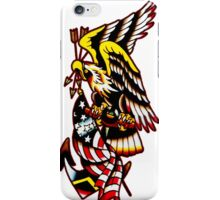 American Eagle Tattoo design iPhone Case/Skin