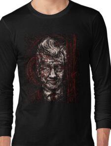 David Lynch portrait Long Sleeve T-Shirt
