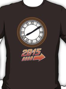 Back to the Future Clock 2015 T-Shirt