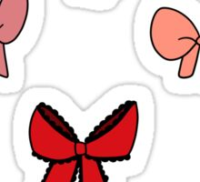 Ribbon Bows Sticker Sheet Sticker