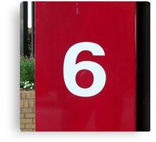 """6"" Canvas Print"