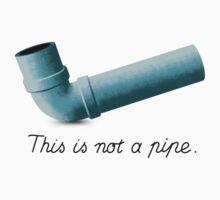 Ceci n'est pas une pipe One Piece - Short Sleeve