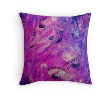 Space Web Throw Pillow