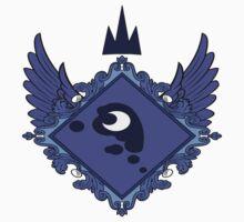MLP - Princess Luna's Coat of Arms Kids Tee